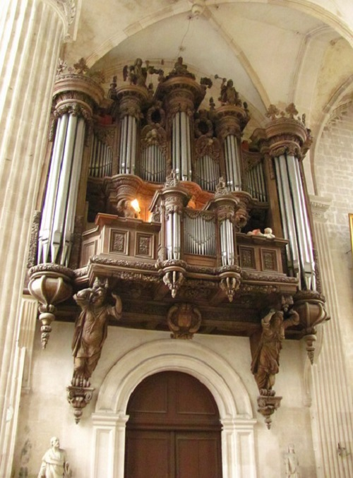Orgue monumentale de l'église Saint Michel